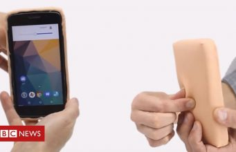 Phone Case Created Out Of Artificial Skin Bbc News