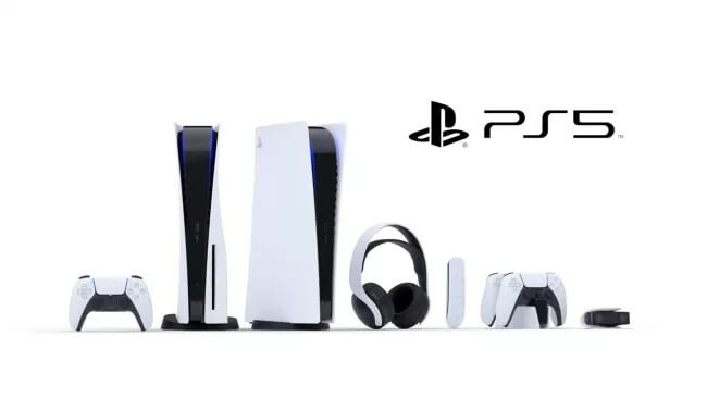 PS5 with all Accessories