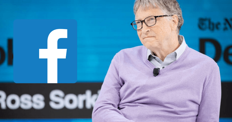 Bill Gates: Facebook Liable for the Spread of COVID-19 in the USA