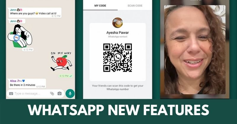 WhatsApp Rolling Out New Features Like Animated Stickers, QR Codes, And More In Coming Weeks
