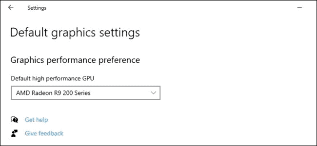 Improved graphics in Windows 10 21H1
