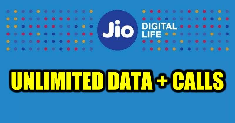 Jio Unlimited Data Offer: Jio Offers 5 Months of Free Data and Calls