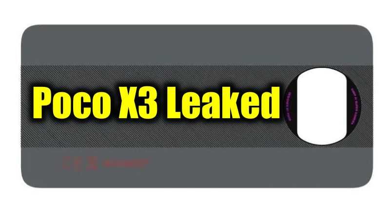 Poco X3 Spotted on FCC Listing, Features Leaked!