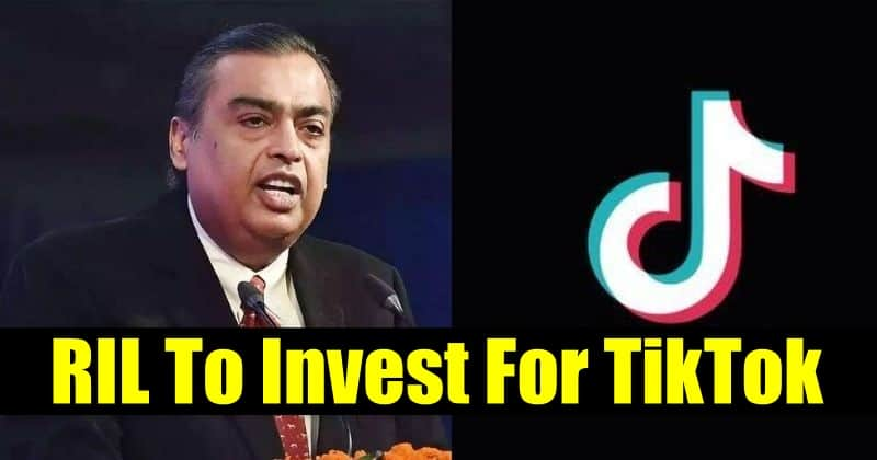 TikTok ByteDance in Talks with Reliance Industries for Investment in TikTok