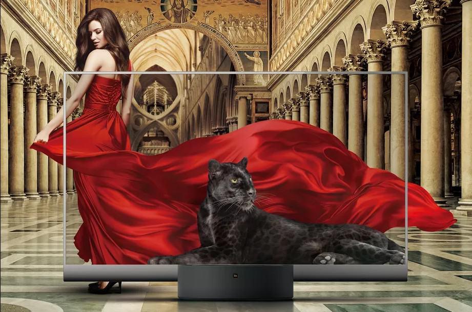 Mi TV Lux: First Transparent TV Announced by Xiaomi