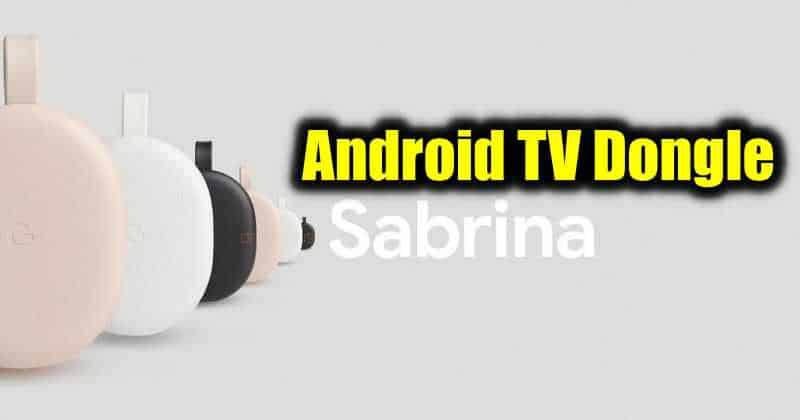 Google's Android TV Dongle 'Sabrina' Leaks, Priced at $49