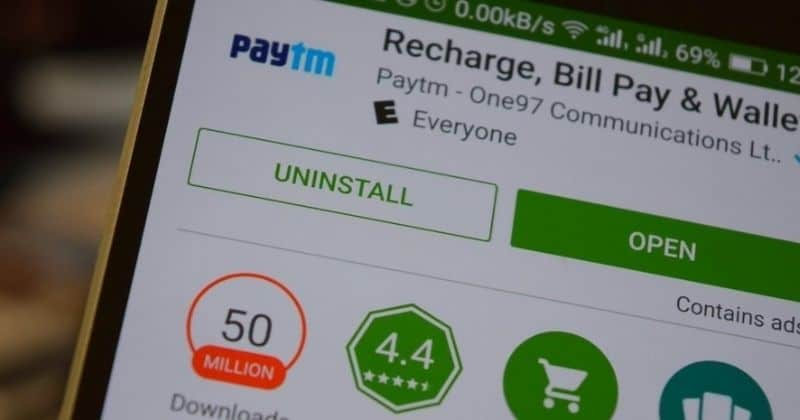 Google removes Paytm App from Play Store