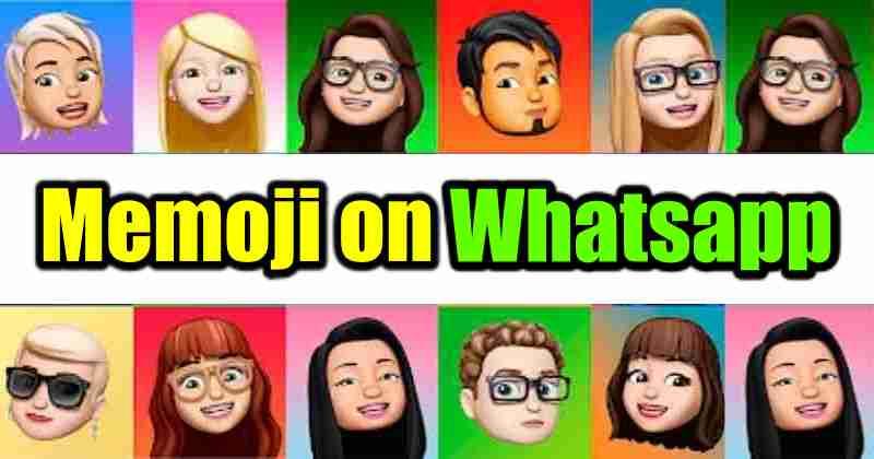 Memoji Stickers on WhatsApp Web