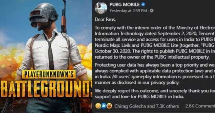 PUBG fully banned in india
