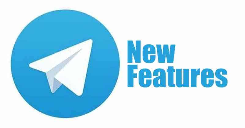Telegram added new features in the latest update