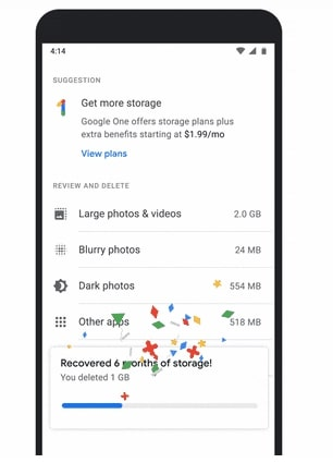 Google Photos end its free service