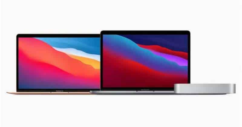 MacBook Pro, Mac mini and MacBook Air
