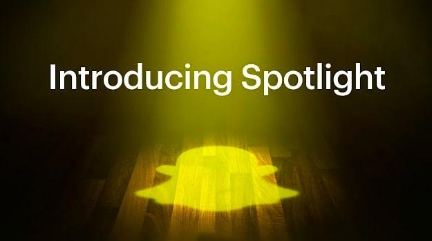 Snapchat Launches 'Spotlight' Feature to Take on TikTok