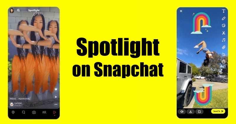 Snapchat launches tiktok like feature, Spotlight