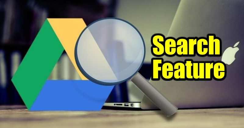 Search Feature on Google Drive App