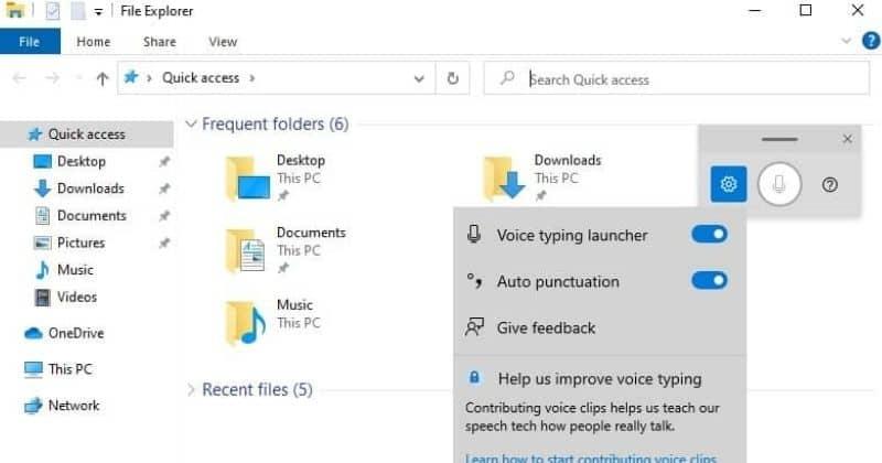 Voice Launcher feature