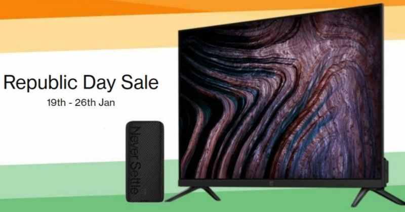OnePlus Republic Day Sale