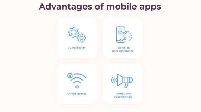 Advantages of mobile apps